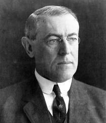 President Woodrow Wilson (public domain photo)